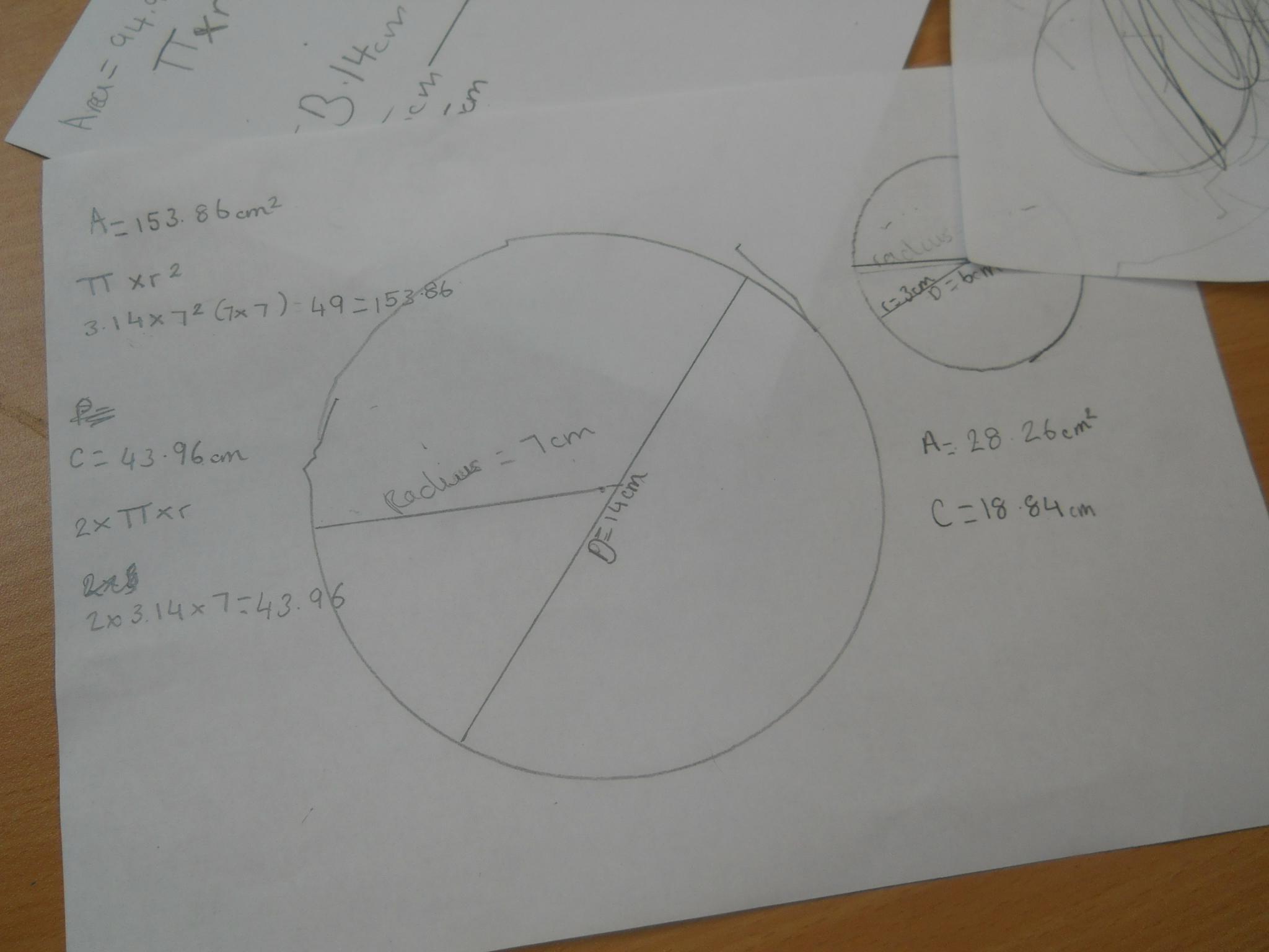 Circle And Calculate The Surface Area Of A Cylinder Dscn1482 ·  Dscn1472 · Dscn1473 · Dscn1474